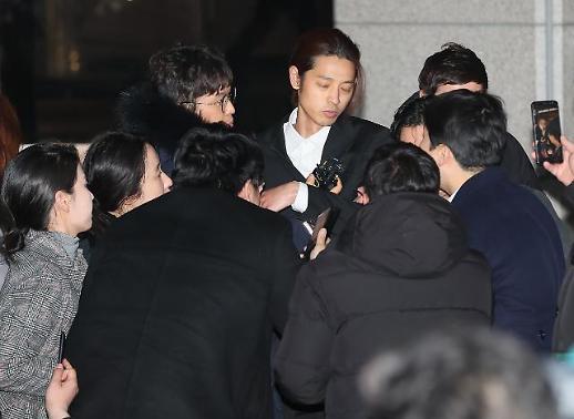 경찰, 성관계 몰카 논란 정준영에 오늘 내일 중 영장 청구