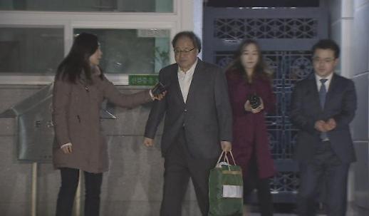 """'박근혜 국정농단' 안종범, 오늘 새벽 석방…""""구속 기간 만료"""""""