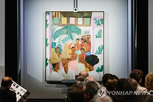 프리다칼로 남편 리베라 그림, 1년전 105억에 경매? 아내 작품보다 비싸게 팔려