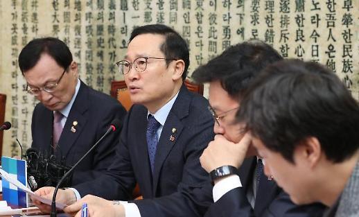 홍영표 김학의·장자연 사건이 표적수사?…한국당 물타기 특검 중단하라