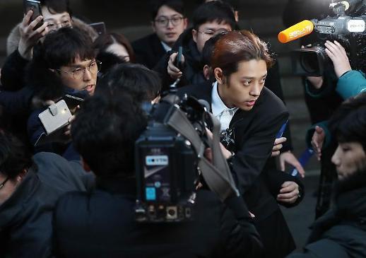 """'성관계 몰카' 정준영 """"용서받을 수 없는 범죄…법원 판단 따르겠다""""(1보)"""