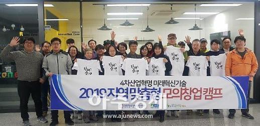 경북창조경제혁신센터, '2019 지역맞춤형 모의창업캠프' 개최