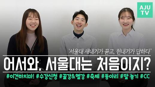 [영상/주리를틀어라] '서울대 새내기가 묻고, 헌내기가 답하다' 새내기 대학생활 꿀팁 대공개