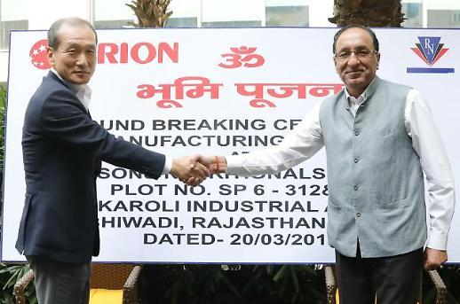 오리온, 13억 인도 시장에 '초코파이' 선보인다