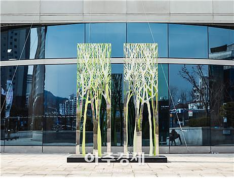 [의정부] 예술의전당, 크라운해태와 함께하는 야외조각 전시회