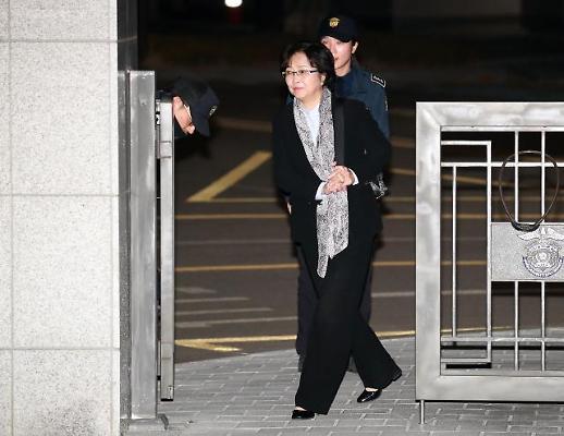 '환경부 블랙리스트 의혹' 김은경 전 장관 구속영장 기각 사유 보니
