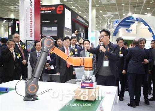 제조업의 디지털 전환 모색…27∼29일 스마트공장·자동화산업전 2019 개최