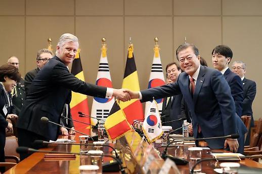 경제사절단 이끌고 온 벨기에, 韓과 4차 산업혁명 공조 강화