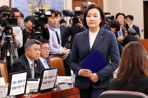 """박영선 """"'김학의 임명 말라' 황교안에게 CD 보여줘""""(종합)"""