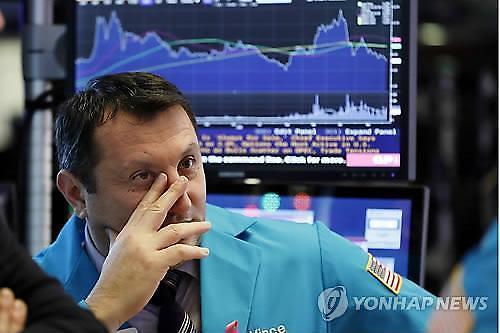 [글로벌 증시] 美 10년물 국채금리 또 다시 하락세...다우지수 0.13%↓