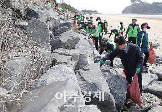 """충남도 """"해양 생태계 보존 하자""""…쓰레기와 전쟁 선포"""