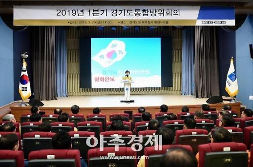 경기도청 북부청사에서 1분기 경기도통합방위회의 개최
