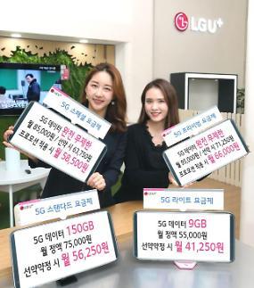 LG유플러스, 5G 완전무제한으로 전략 수정
