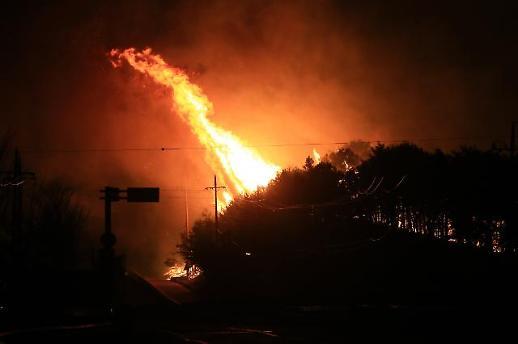 홍남기, 산불 피해 대처 위해 재난안전특별교부세 등 42억5000만원 5일 긴급 집행할 것