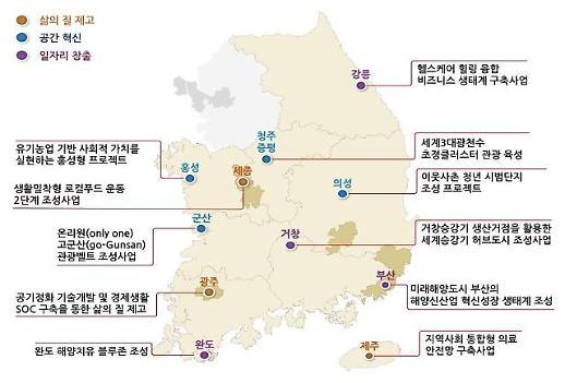 지역 주도 사업계획 발굴…지역발전투자협약 시범사업 11개 선정