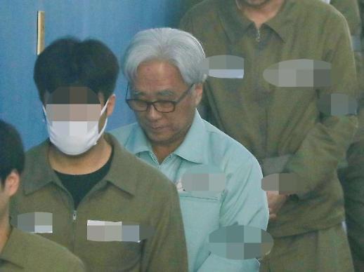 '단원 상습 성추행' 이윤택 오늘 2심 선고