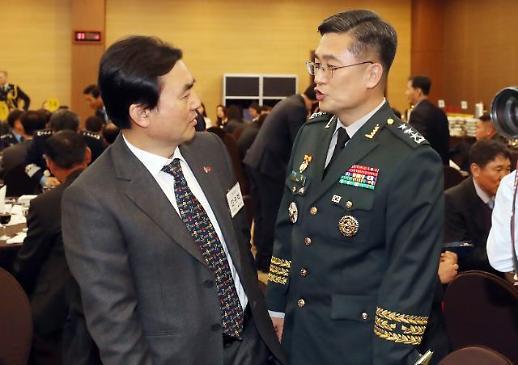 [포토] 행사 참석 한 서욱 육군참모총장 내정자