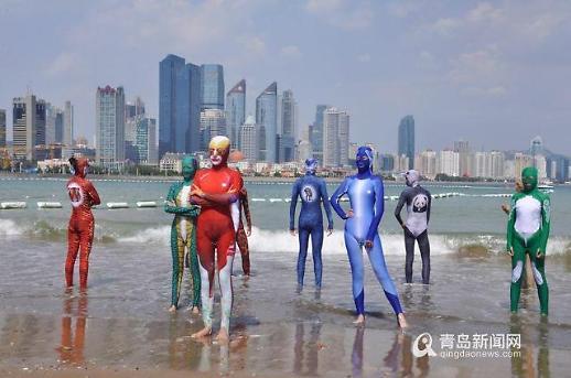 [중국포토]올 여름 뜨겁게 달굴 패션은?