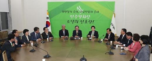 평화-정의 교섭단체 사실상 무산...제3지대론 분출