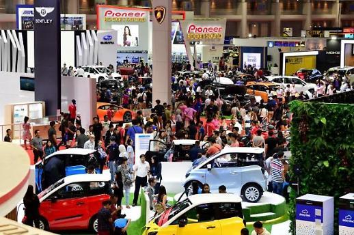 [NNA] 방콕 국제 모터쇼 자동차 계약 20%↑, EV가 견인