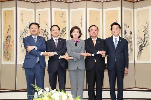 여야, 상해 임시의정원 100주년 기념식 '동행'…대치정국 해소 '기대감'