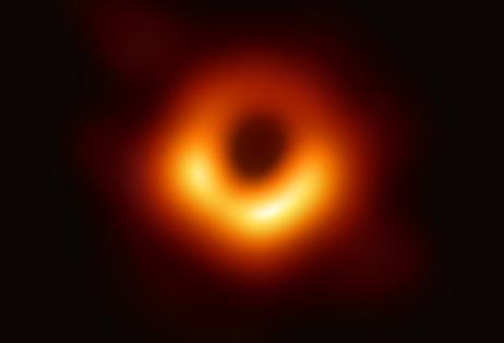 [포토] 실제 블랙홀 사진 ...태양 질량 65억배