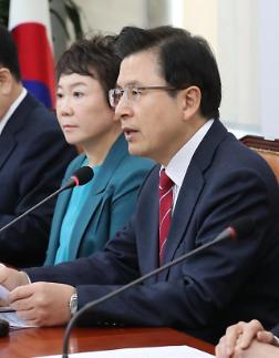황교안 한국은 중재자가 돼야…북한의 변호인 되선 안돼