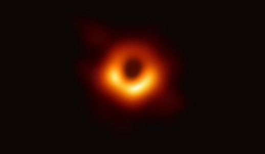 중국 오성홍기, 블랙홀 사진 저작권 주인은 누구?