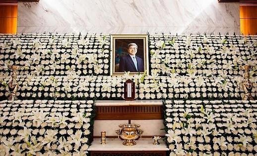 [종합] 조양호 회장 장례식 첫날…정·재계 조문 줄이어