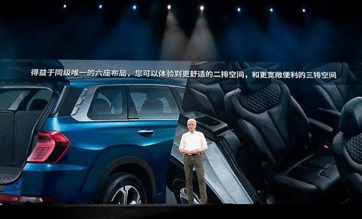 현대차, 중국서 첨단 기술 탑재한 신형 싼타페로 점유율 10%·톱5모델 노린다