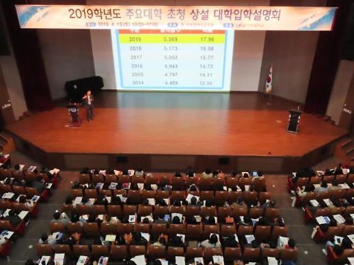 인천시교육청, 인천대, 인하대 등 경인지역 대학 입학설명회 개최