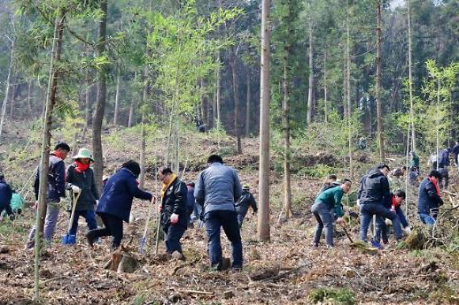담양군 미세먼지 온난화 대비 천년향기숲 조성