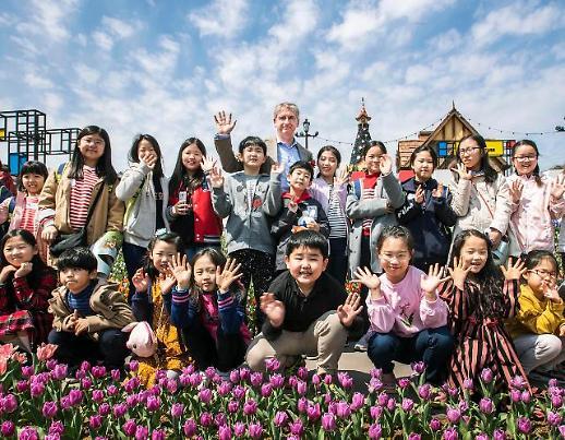 네덜란드 대사, 에버랜드 일일 튤립 선생님으로 등장