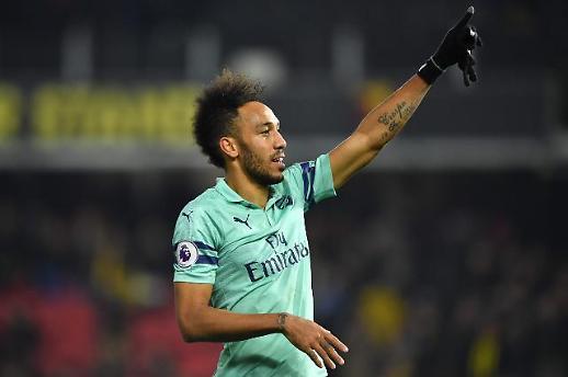 [프리미어리그] 아스날, 왓포드 꺾고 4위 탈환…첼시·맨유 제치고 토트넘 추격