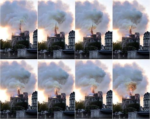 [노트르담 대성당 화재] 부활절 앞 발생한 참사…프랑스의 정신ㆍ문화 불타