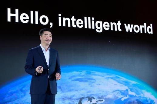 """켄 후 화웨이 순환회장 """"클라우드 경쟁은 곧 AI...우위 자신"""""""