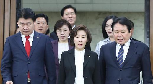 한국당, 인천 남동공단서 최저임금·주52시간 현장목소리 청취