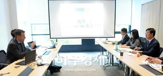 양승조 충남지사, 첨단소재 분야 선두 기업 찾아 '충남 세일즈'