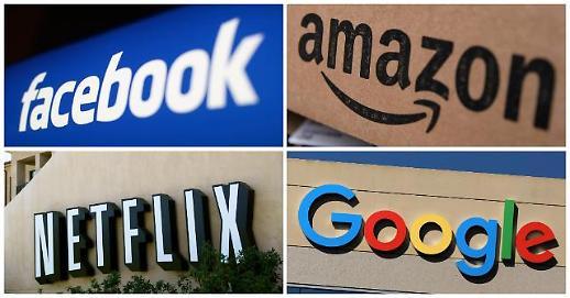 日, 구글·페이스북·아마존 'IT공룡 표적…데이터 독점금지법 개정 추진