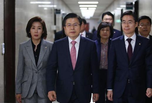 황교안, 이번 주말 첫 장외투쟁…이미선 헌법재판관 임명에 반발