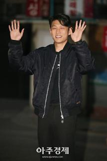 [포토] 열혈사제 종방연에 참석하는 배우 고준