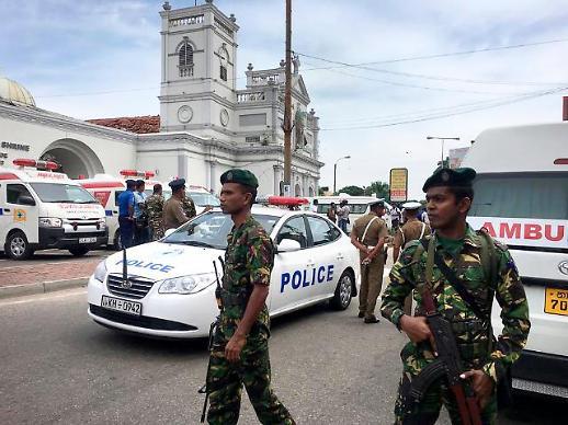 스리랑카 폭탄 테러 피의 참사…文대통령 부활절 비극 믿기지 않아