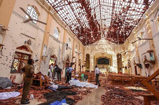 [포토] 스리랑카 부활절 폭탄테러...사망자 228명