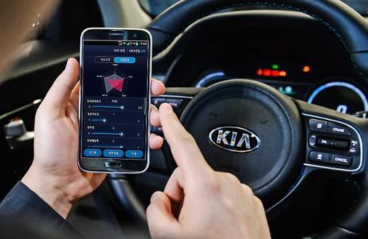 현대·기아차, 세계 최초 스마트폰 활용 전기차 조절 기술 개발... 성능·효율 내마음대로