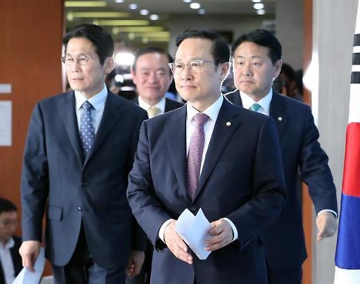 여야4당, 선거제·개혁법안 패스트트랙 잠정 합의…공수처법 타결