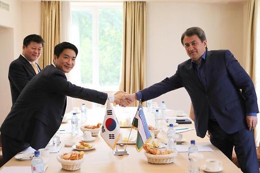 한국테크놀로지-우즈벡 철도청 타슈켄트 역사 건립 협의