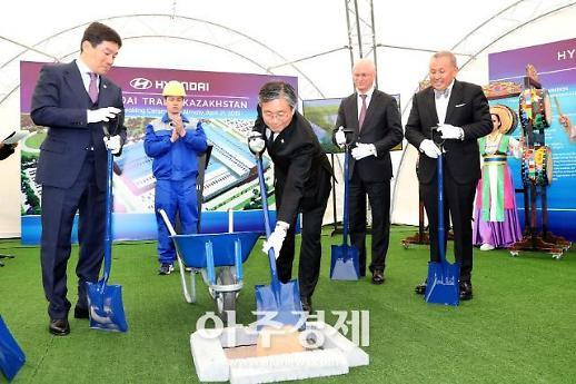 카자흐스탄에 연산 1만5000대 현대차 조립공장 설립