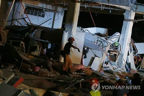 [글로벌포토] 필리핀 지진 구조 현장