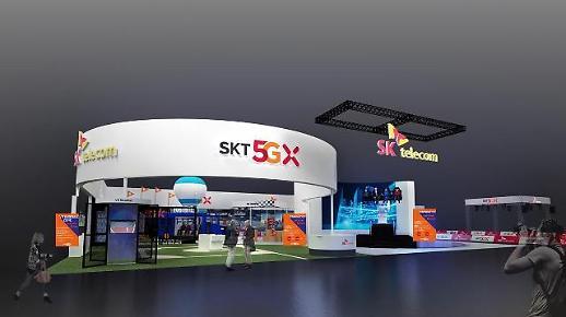 '월드IT쇼' SK텔레콤, VR 로봇전투‧AR 앵그리버드…혁신적 5G 선봬