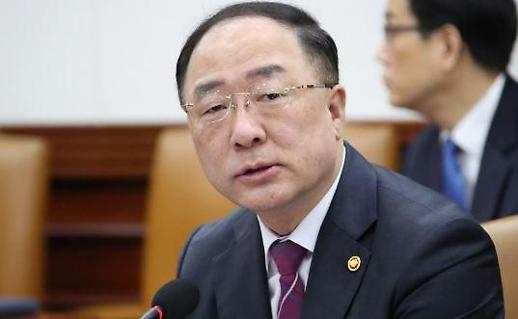 홍남기 부총리 채권단, 아시아나항공에 1조6000억원 투입